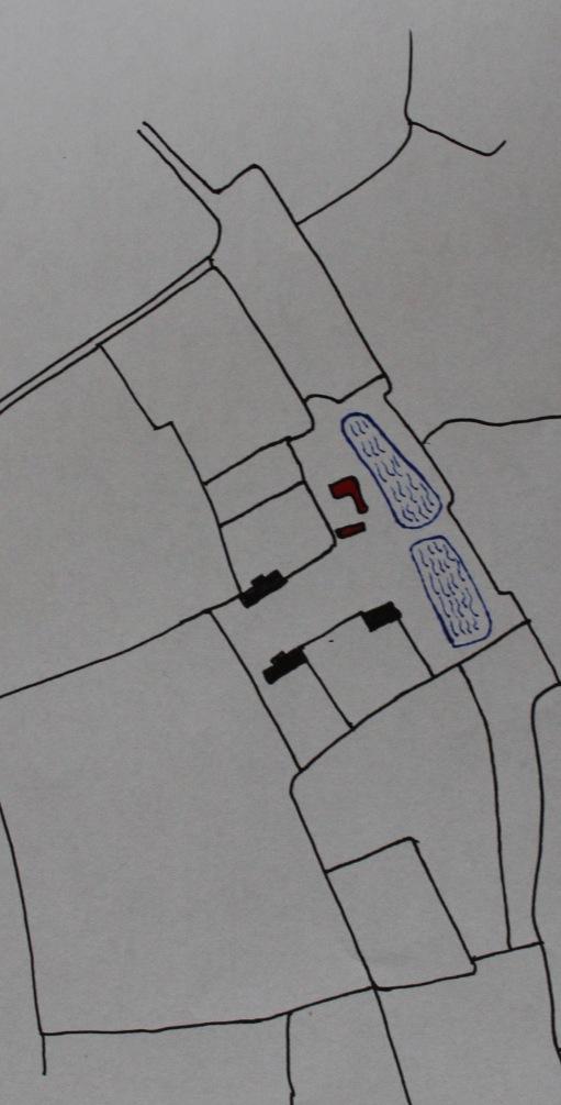 Grimston Hall 1807 enc Map