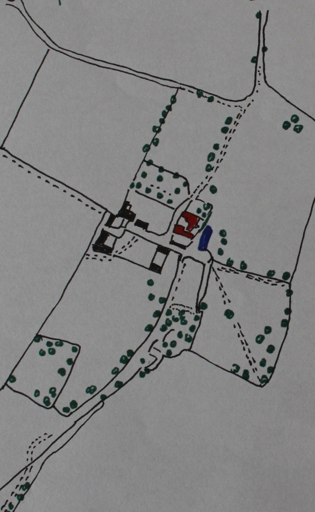 Grimston Hall 1881 OS Map