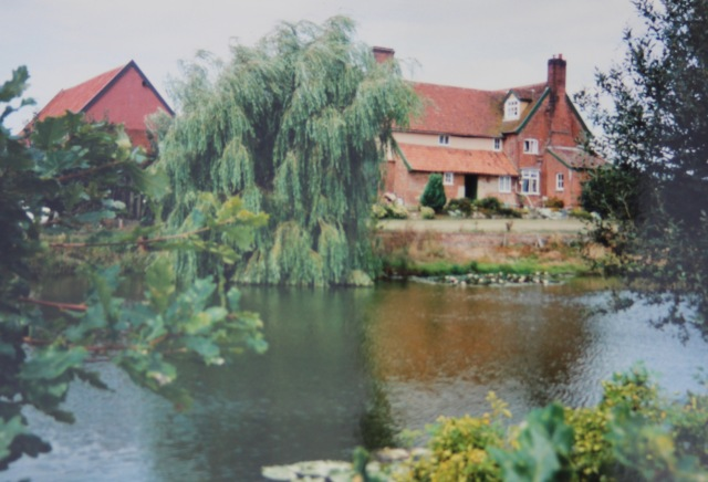 Pond at Grimston c 1990
