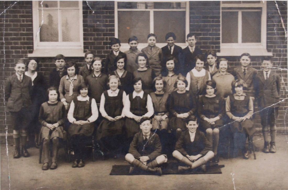 2 doris brooke at trimley st martin school 1933