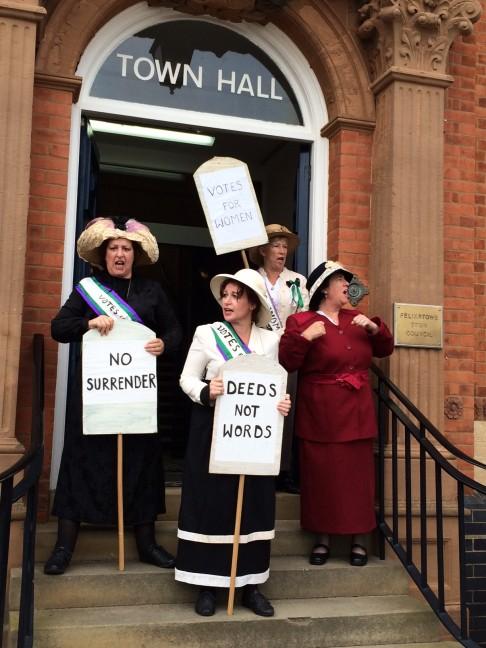 Felixstory suffragettes
