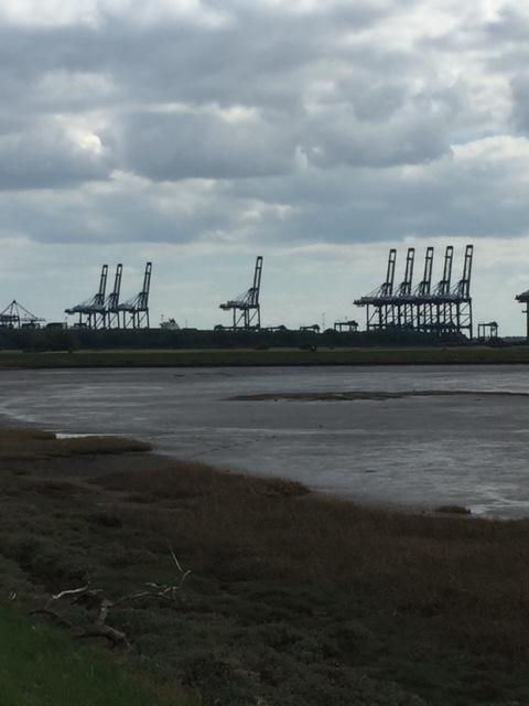Felixstowe Cranes